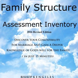 THE CHRISTIAN MARRIAGE AND FAMILY STRUCTURE ASSESSMENT INVENTORY - EBOOK