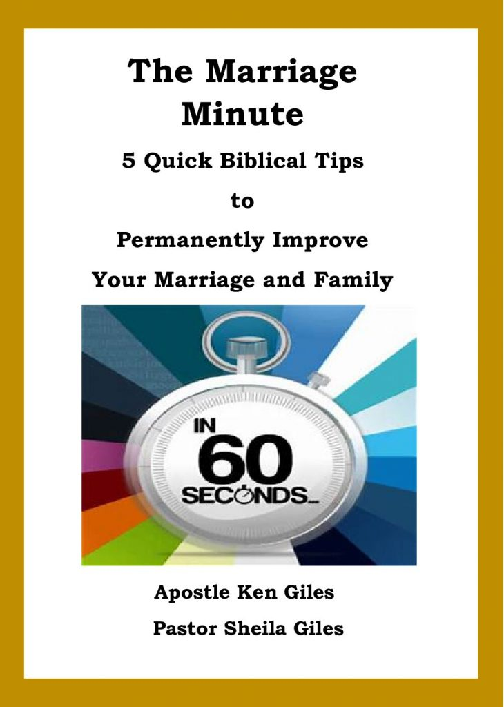 THE MARRIAGE MINUTE - 5 QUICK BIBLICAL TIPS TO PERMANENTLY IMPROVE YOUR MARRIAGE AND FAMILY - EBOOK